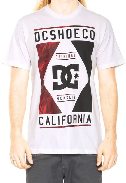 Camiseta Dc Shoes Wanderer Bege