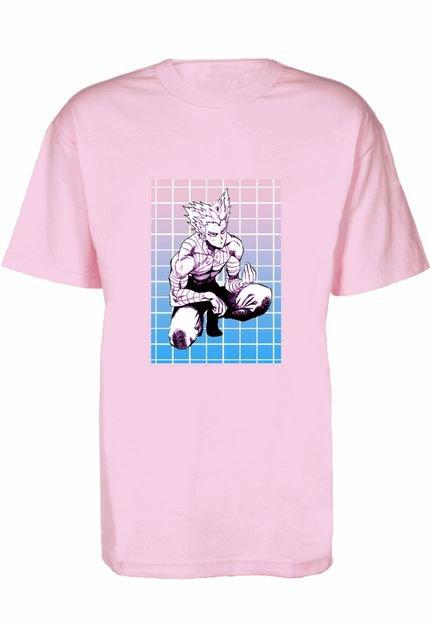 Prorider Camiseta Prorider Zeno On Rosa Claro com Bolso Retangular Vertical Estampado  ZOCAM07 3oXRw
