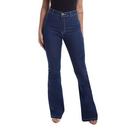 Denuncia Calça Jeans Denuncia Flare Hot 24191 1 Un Azul SyNcm