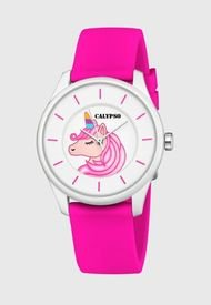 Reloj Casual Plateado Calypso
