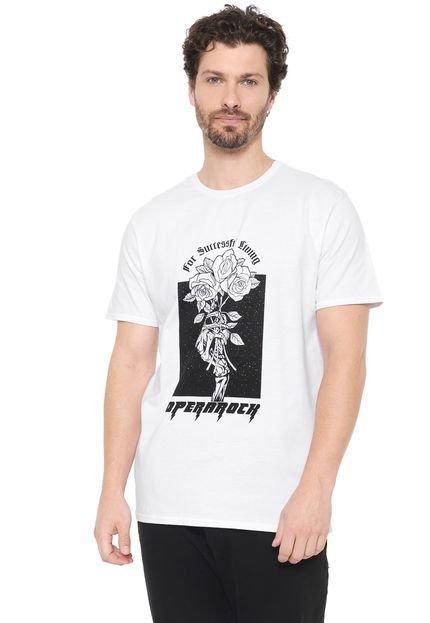 Camiseta Opera Rock For Successful Living Branca