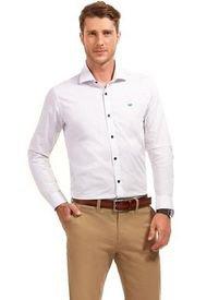Camisa Manga Larga Business Colorado Blanco Ferouch