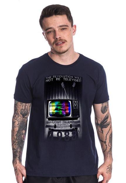 Camiseta Long Island Tape Marinho