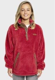 Polar Mujer Medio Cierre Alaska Rojo Kilimanjaro