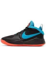 Tenis Niños Nike Team Hustle D 9 Gs-Blk/Laser Blue-Hyper Crimson