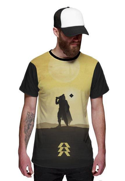 Camiseta Di Nuevo Game Caçador Jogo Preta