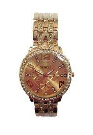 Reloj Circones en Correa Cobre Geneva