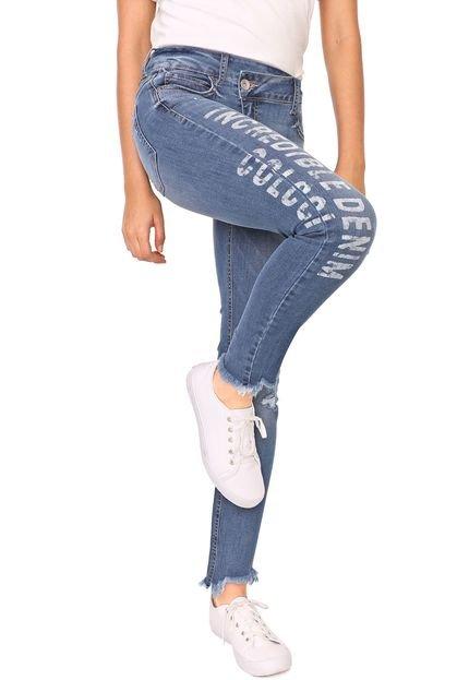 Colcci Calça Jeans Colcci Skinny Cory Azul 1715Z