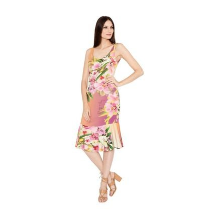 Lucy in The Sky Vestido Lucy in the sky Midi Floral 6hPbf