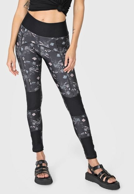 Hang Loose Legging Hang Loose Midnight Preta 60gbH