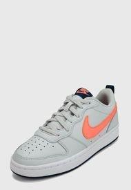 Tenis Lifestyle Negro-Blanco Nike Kids Borough Low 2