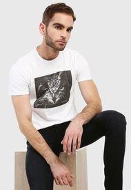 Camiseta Blanco-Negro Levi's