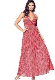 Vestido Sl Marrah Maxi Rosado Guess