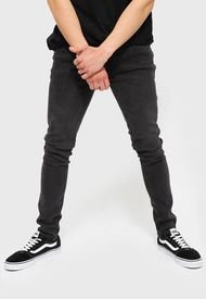 Jeans Maui And Sons 5N101-MI21 Super Skinny Negro - Calce Skinny