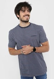 Remera Azul Quiksilver Shred That