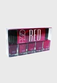 Esmalte Nail Lacquer Set Red 2 Petrizzio