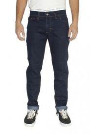 Jeans Skinny Elasticado Mezclilla Azul Oscuro Old Tree