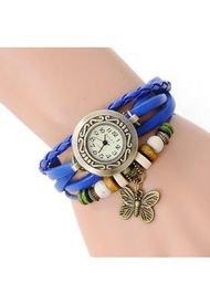 Reloj Pulsera Vintage Mariposa - Azul