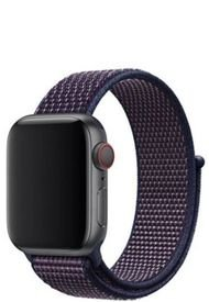 Pulsera Apple Watch Nylon Negro TodoBags
