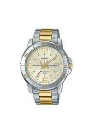 Reloj Análogo Plateado Casio