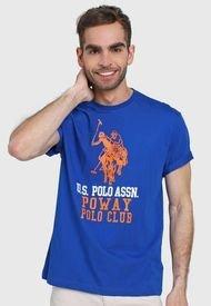 Camiseta Azul-Blanco-Rojo Us Polo Assn