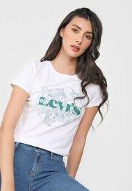 Camiseta Blanco-Verde Levi's