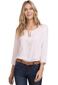 Blusa Para Mujer Blanco Rutta