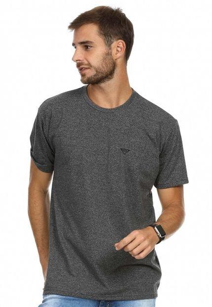 Camiseta VLCS Trends Gola Careca Preta