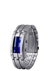 Reloj Electronico Hombre Binario CE-1133 Plata 20cm