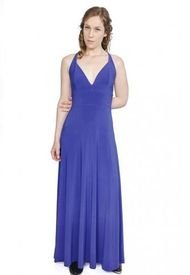 Vestido Zara Azulino Natalia Seguel