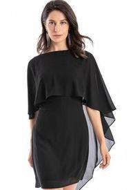 Vestido Capa Negro Nicopoly