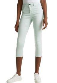 Pantalón A Rayas Verde Claro Esprit