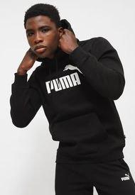 Polerón Puma ESS Big Logo Hoodie FL Negro - Calce Regular