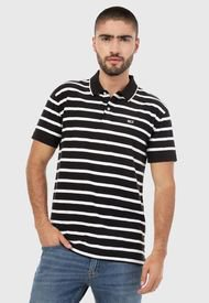 Polo Negro-Blanco Tommy Jeans