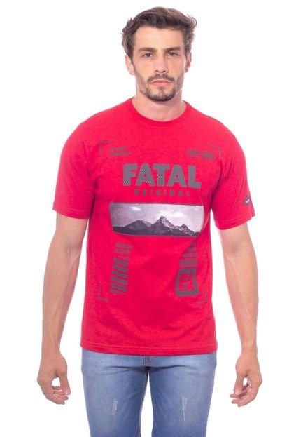 Camiseta Fatal Básica Vermelha