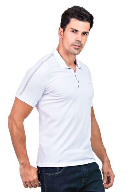 Camisa Polo Hifen Branca