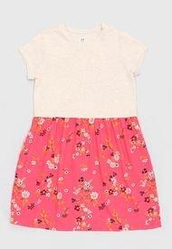 Vestido Rosa Gap