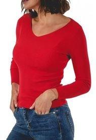Sweater Verlac Rojo Guinda