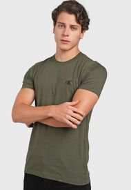 Camiseta Verde Calvin Klein