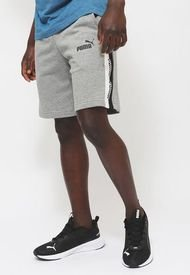 Short Puma AMPLIFIED Shorts 9 TR Gris - Calce Regular