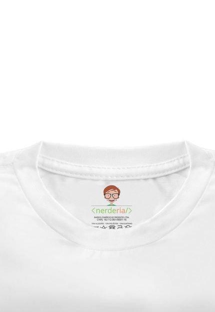 Nerderia Camiseta Baby Look Nerderia Tabela Periodica Branco eksVv