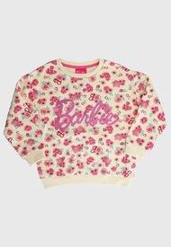 Polerón Barbie Niña Sweatshirt Multicolor