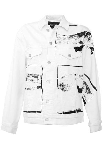 Calvin Klein Jeans Jaqueta Sarja Calvin Klein Jeans Andy Warhol Branca 3zsrU