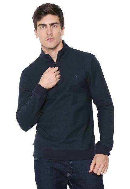Suéter VR Logo Azul-marinho