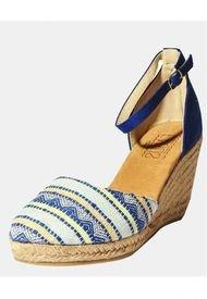 Sandalia Mujer Azul Fagus