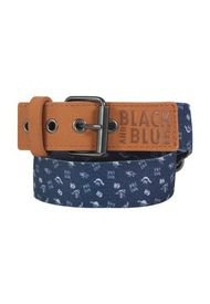 Cinturón Liam Niño Azul Marino Black And Blue