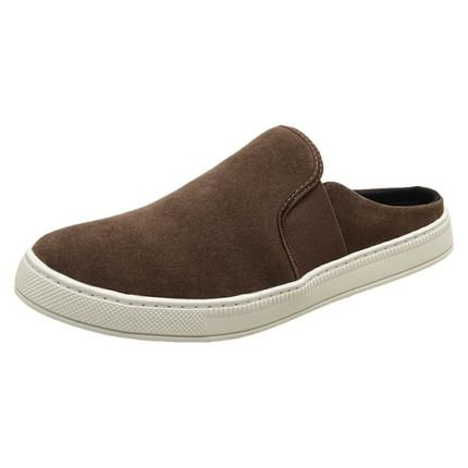3LS3 Mule Slip On Casual 3LS3 Marrom 8iE8n
