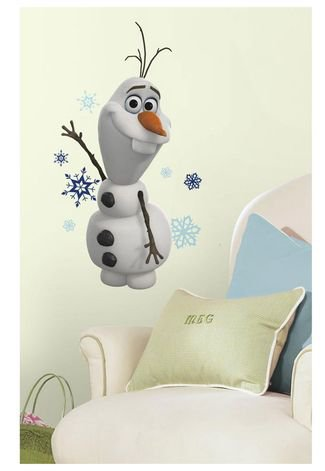 Adesivos De Parede Roommates Colorido Disney Frozen Olaf The Snow