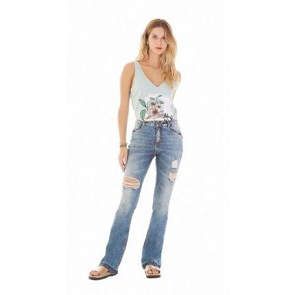 Zinco Calca Zinco  Lilly Cos Intermediario Barra Desmanchada  Jeans MQi06