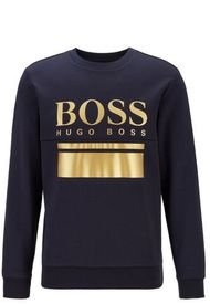 Polerón Slim Fit Con El Logo Estampado Boss